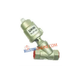 PNEUMATIC Y TYPE ANGLE METAL VALVE