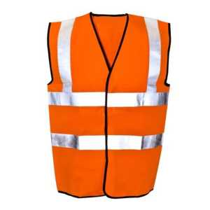 "FREE FALL 2"" REFLECTING TAPE SAFETY JACKET"