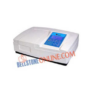 4 GLASS DOUBLE BEAM MICROPROCESSOR UV-VIS SPECTROPHOTOMETER