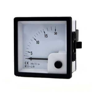 AC ammeter m.i.0-5 A.