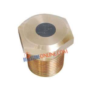 BRONZE FUSIBLE PLUG (ONE PIECE DESIGN) (IBR CERTIFIED VALVES)
