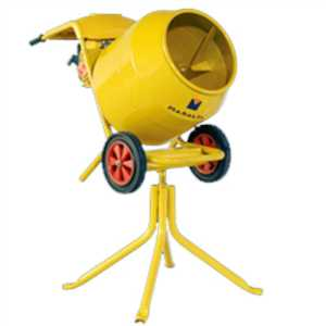 BELLSTONE CONCRETE MIXER WITH STAND (120 LITTER)