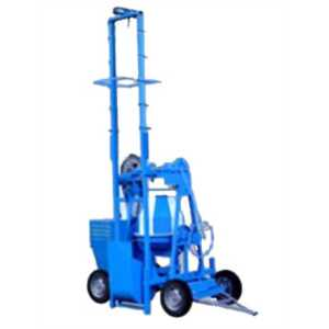 BELLSTONE TWO POLE CONCRETE MIXER WITH LIFT