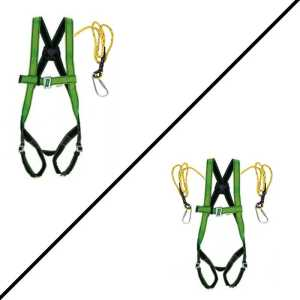 Full body harness (pack of 2) single & double Hook combo