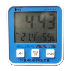 Thermo-Hygrometer Digital Clock
