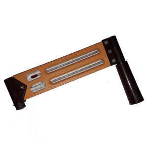 Bellstone Sling Psychrometer Thermometer Plastic Body (Type centigrade)
