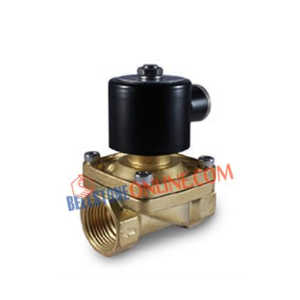 BRASS DIAPHRAGM OPERATED SOLENOID VALVE