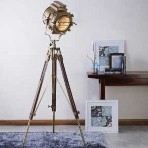 Retro Hollywood Marine Floor Lamp Studio Light