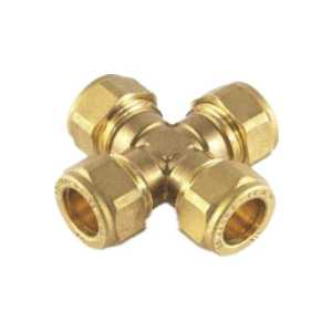 Olive Four Way Female Connector