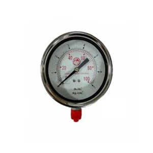 JTM SS BODY PRESSURE GAUGE 100MM HIGH RANGE