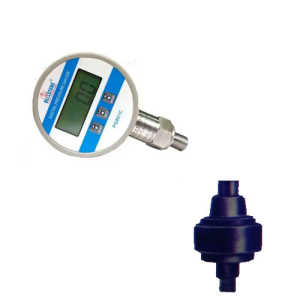 digital pressure gauge 0 to 60 bar with high temperature frame
