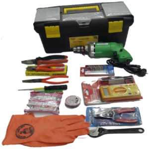 BELLSTONE 14 ITEM ELECTRICAL TOOLS KIT WITH BOX