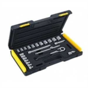 STANLEY MECHANIC TOOLS -24 PIECE 3/8 DRIVE METRIC SOCKET SET