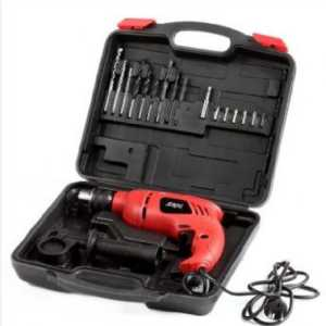 SKIL 6513JD IMPACT DRILL WITH 16PCS BIT SET 13 MM, 550 W, 3000 RPM