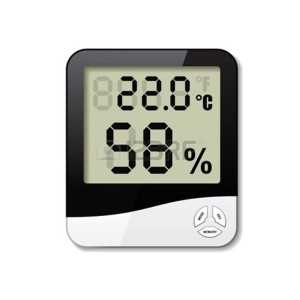 BELLSTONE DIGITAL THERMO HYGROMETER CLOCK 3-IN-1