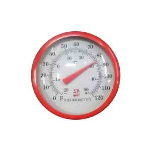 Room Thermometer Dial (Wall & Table Type) Range 0 to 120ᵒC (-20 to +50)F Dial Size 4""