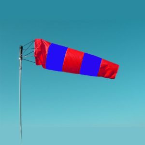 WIND SOCK RED AND BLUE