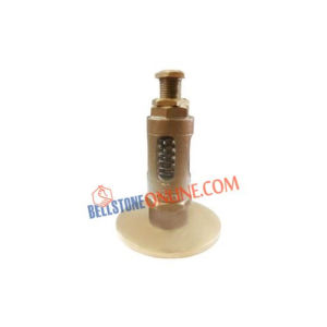 BRONZE SPRING RELIEF VALVE (STRAIGHT TYPE) FLANGED INLET