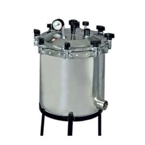 ALUMINUM BODY AUTOCLAVES LABORATORY (PORTABLE)