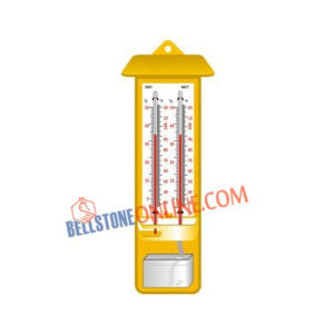 OMSONS WET AND DRY BULB HYGROMETER