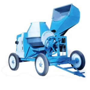 BELLSTONE CONCRETE MIXER WITH HYDROLIC HOPPER