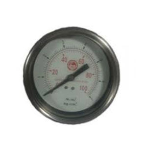 JTM SS BODY PRESSURE GAUGE 150MM LOW RANGE (Back Mounting)