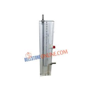 MICRO GLASS TUBE MANOMETER SINGLE LIMB RANGE 0-100