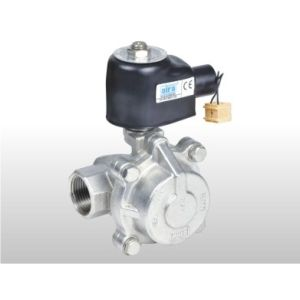"2/2 WAY PILOT OPERATED ""PISTON TYPE SOLENOID VALVES"" FOR STEAM & HIGH TEMPERATURE FLUIDS"