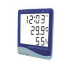 BELLSTONE DIGITAL TEMPERATURE HYGROMETER & CLOCK