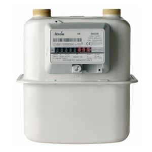 ITRON GAS METER MAKE ITRON MODEL G - 16 NC