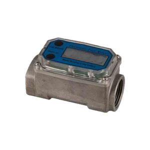 Flow Meter Digital Display Size 25mm Turbine Type
