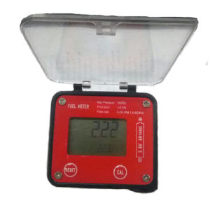 "Oval Gear Flow Meter Digital Display Size 1/2"" (Flow Range 99999.9)"