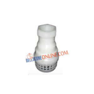 PP FOOT VALVE SCREW END