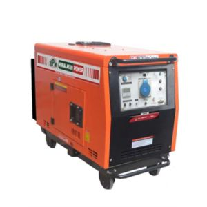 PORTABLE DIESEL SELF START MAX AC. OUTPUT VA 6500