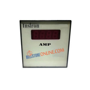 INSTRON DIGITAL AMP METER SIZE : 96X96mm