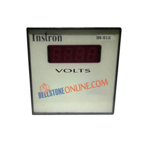 INSTRON DIGITAL VOLT METER SIZE : 72X72mm