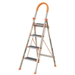 BELLSTONE 4 STEP ALMUINIUM HOUSE HOLD LADDER