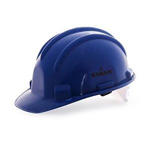 KARAM SAFETY HELMET WITH RACHET BLUE COLOR