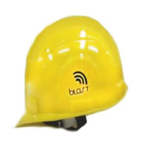 BLAST SAFETY HELMET WITHOUT RACHET YELLOW COLOR