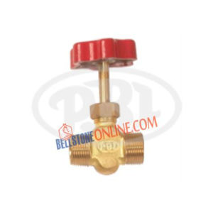 BRASS NEEDLE VALVE MALE X FEMALE