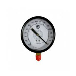 PRESSURE GAUGE MS BODY 150MM HIGH RANGE