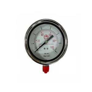 JTM SS BODY PRESSURE GAUGE 100MM LOW RANGE
