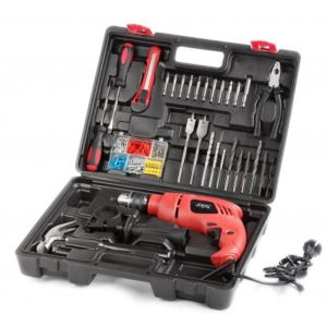 SKIL 6513JJ IMPACT DRILL SET 138 PCS 13MM 550W