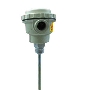 "head type thermocouple size 18"" type:- Fe/K (400 Celsius)"