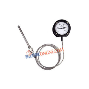"""JTM MS BODY SIZE: 6"""" DIAL THERMOMETERS MERCURY IN STEEL"""