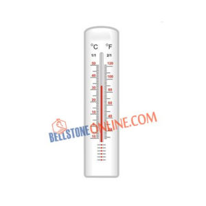 OMSONS WALL THERMOMETER PLASTIC BODY