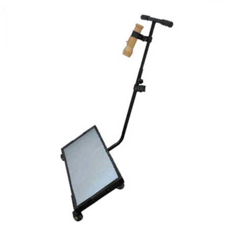 Bhi Under Vehicle Search Mirror Trolley Type With Torch