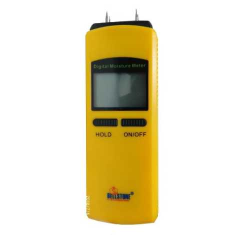 Digital Moisture Meter (Moisture Measurement: 10~40%)