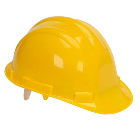 BELLSTONE SAFETY HELMET WITHOUT RACHET YELLOW COLOR
