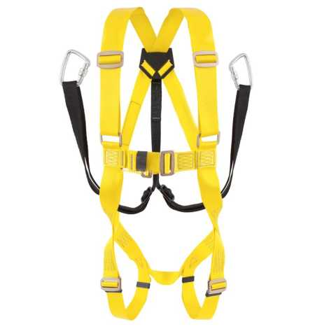 Safety Belt Double Hook Full Body Protective Harness For Working Construction
